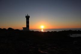 Amanecer EN PUNTA PLANA de Mallorca