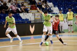Imagen del último partido del Palma Futsal