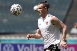 Gareth Bale, jugador de la selección de Gales