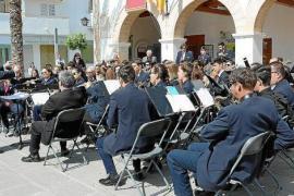La Banda de Música de Santa Eulària vuelve con un concierto en la Plaza del Ayuntamiento