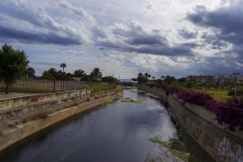 Torrente del parque de son Parera en Palma