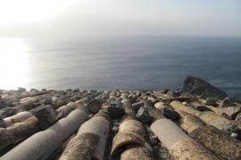Tejado en sa Foradada de Mallorca