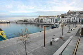 Los comerciantes del puerto, «preocupados» por la ausencia de los megayates