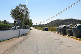 Vecinos del Stella Maris denuncian aparcamientos incontrolados en el Camí de Cap Negret