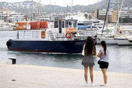 En barca a Talamanca, Platja d'en Bossa o Santa Eulària