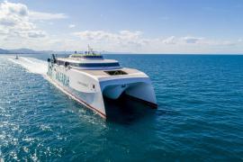 Baleària amplía las conexiones diarias en alta velocidad a Baleares desde Dénia con un nuevo buque