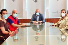 El Consell de Ibiza concede una subvención de 75.000 euros a Cruz Roja