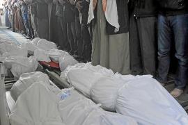 MUEREN SIETE REFUGIADOS SIRIOS EN UN INCENDIO EN UN CAMPAMENTO EN JORDANIA