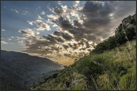 Amanecer en s'Entreforc, Serra de Tramuntana