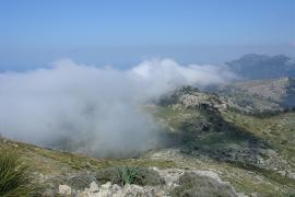 Mola de s'Esclop en Serra de Tramuntana, Mallorca