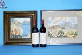Detenida la asistenta de un anciano de Palma por robarle dos valiosos cuadros