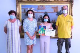 Sant Antoni entrega el premio de 'Ni un Foc al Bosc'