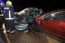Una mujer fallecida y dos heridos graves en un accidente en Menorca