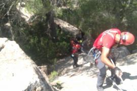 Ingresado en la UCI el escalador que se golpeó la cabeza tras una caída de más de ocho metros