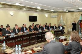 Muchas reuniones y poca concreción en el viaje de Bauzá y empresarios a  Rabat