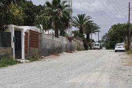 Finaliza la adecuación de cuatro caminos del barrio de Cas Mut