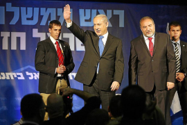 Netanyahu gana las elecciones pero pierde fuerza frente al centro-izquierda