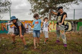 El futuro del arte urbano en la isla de Ibiza pasa por Can Miró