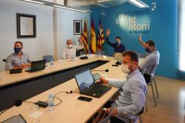 Sant Antoni da luz verde a la reorganización del departamento de Urbanismo