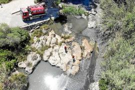 Santa Eulària limpia el río tras el periodo de nidificación de aves