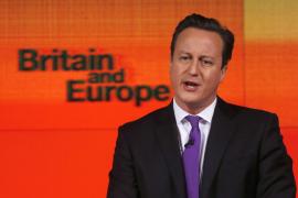 "Cameron promete un referéndum para ""quedarse o salir"" de la UE"