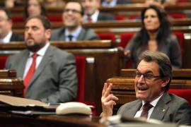 El Parlament aprueba iniciar el proceso de autodeterminación en Cataluña