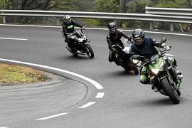 Las carreras de motos hacia el Puig Major pasan a ser más frecuentes entre semana