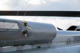 Atacan a tiros un helicóptero en el que viajaba el presidente de Colombia