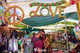 El mercadillo de Punta Arabí abre sus puertas este miércoles tras casi un año cerrado