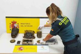 La Guardia Civil ha detenido a un hombre por tráfico de drogas en Ibiza