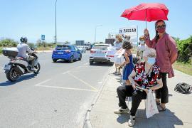 Por un paso de peatones que permita continuar el Camí d'es Pou d'en Basques