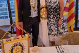 Alexander Mart, nuevo presidente del Rotary Club de Ibiza
