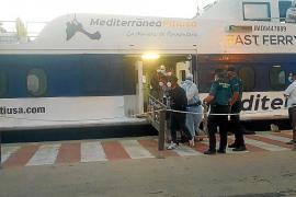 Interceptado un grupo de diez inmigrantes llegados en una nueva patera a Formentera