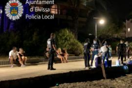 La Policía interviene en un botellón en Ibiza e interpone 29 denuncias