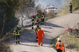 Incendio en Ibiza