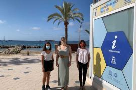 Vila pone en marcha la oficina de información turística de ses Figueretes