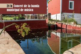 La banda municipal de Santa Eulària actúa este domingo en Sant Carles