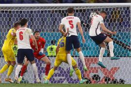 Inglaterra barre a Ucrania y peleará por el título