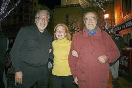Revetla de las fiestas de Sant Sebastià 2013 en Palma