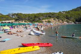 Ibiza y Formentera, en aviso naranja este martes por temperaturas de hasta 37 grados