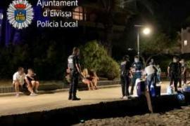 Policía Nacional investiga una refriega a botellazos con tres heridos en Ibiza