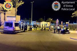 Un peatón ingresado en la UCI tras ser arrollado en Sant Josep en un fin de semana accidentado con seis heridos
