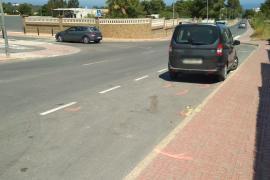 Un ciclista muere tras ser golpeado por un vehículo que maniobró para adelantar a otro