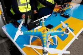 Drones de tráfico vigilan las carreteras y envían imágenes a la DGT