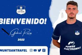 Gabriel Rares, nuevo jugador del San Rafael