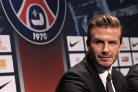 Beckham, nuevo jugador del París Saint-Germain