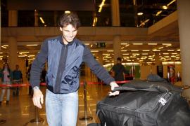"""Nadal, a su llegada a Chile: """"Estoy justillo"""""""