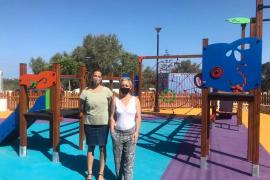 Formentera inaugura un nuevo parque infantil en Sant Ferran