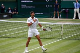 Novak Djokovic, a la final de Wimbledon