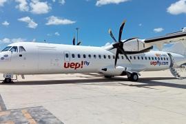 La aerolínea UEP!Fly pone billetes a la venta a partir de 9,50 euros
